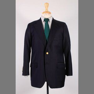 Brooks Brothers Country Club 41S Navy Sport Coat G